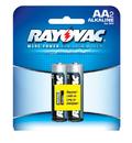 Ray O Vac Alkaline AA Size - 2 Pk Carded, 815-2