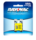 Ray O Vac Alkaline AAA Size - 2 Pk Carded, 824-2