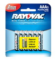 Ray O Vac Alkaline AAA Size - 6 Pack, 824-6
