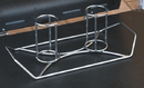The Twins / 2 Can Holder For Standard Bbq Grill