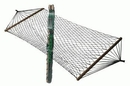Wilcor Nylon Hammock W/Spreader Bars, CMP0634