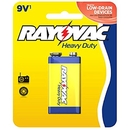 Ray O Vac Heavy Duty 9 Volt - Carded, D1604-1