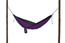 Grand Trunk Parachute Nylon Double Hammock Dark Purple/Black, DH-17
