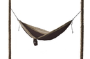 Grand Trunk Parachute Nylon Double Hammock Brown/Khaki, DH-18