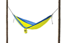 Grand Trunk Parachute Nylon Double Hammock Royal Blue/Neon, DH-25