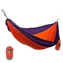 Grand Trunk Parachute Nylon Double Hammock Orange/Purple, DH-31