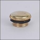 Aladdin Filler Plug, Brass, N115B