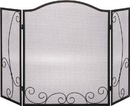 Dagan Industries Screen - 3 Fold Arched Black 29