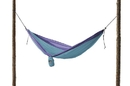 Grand Trunk Parachute Nylon Single Hammock Sky Blue/Purple, SH-07