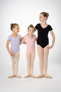 Prima Soft Children'S Leotards #907C Short Sleeve New Higher Back, Adjustable Pinch Front