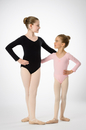 Prima Soft Children'S Leotards #907C Long Sleeve New Higher Back, Adjustable Pinch Front