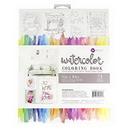 Prima Marketing 655350585723 (P)8X10 Watercolor Coloring Bk