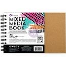 Prima Marketing 655350592394 Prima Marketing Mixed Media Book Art