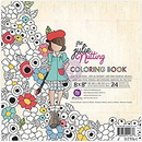 Prima Marketing 655350911676 Prima Marketing Julie Nutting Coloring Book