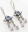 Painful Pleasures BAER008-pair Elegant Bali Sterling Silver French Hook Pair of Earrings