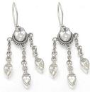 Painful Pleasures BAER031-pair Mystic Jewels Sterling Silver Bali Earrings