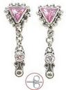 Painful Pleasures BAER038-pair Chimera Bali Sterling Silver Fashion Earrings