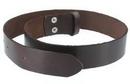 Painful Pleasures belt002a-brown-prem Premium Leather Buckle Belt - Brown
