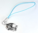 Painful Pleasures CEL017 ORIENTAL Jeweled Eye Fish Wholesale Cell Phone Charms