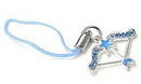 Painful Pleasures CEL031 BOW n ARROW Wholesale Cell Phone Charms