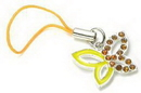 Painful Pleasures CEL035 Half/Half Butterfly Wholesale Cell Phone Charms