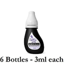 BioTouch COS-205 JET BLACK - BioTouch Pure Single Use Pigment - Permanent Makeup Ink
