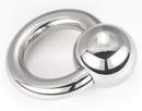 Painful Pleasures Custom-041-PP 14g - 2g Stainless Steel Chunk Ring - Custom Made - Price Per 1