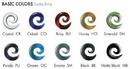 Gorilla Glass Custom-085-SBO-GG Borneo Spiral Glass Plug - Custom Made - Price Per 1