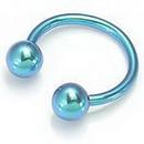 Painful Pleasures Custom-334-TC012-le 14g Internal Titanium Circular Barbell - Custom Made - Price Per 1