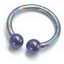 Painful Pleasures Custom-336-TC014-le 10g Titanium Circular Barbell Internally (Custom Made)