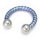 Painful Pleasures Custom-338-TC016-le 6g Titanium Internally Threaded Circular Barbell (CUSTOM MADE)