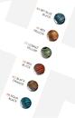 Gorilla Glass Custom-815-TGL-GG Tiger Stripe Borosilicate Glass Labret - Custom Made - Price Per 1