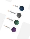 Gorilla Glass Custom-824-SDP-D-GG Surface Dichroic Double Flared Glass Plug - Custom Made - Price Per 1