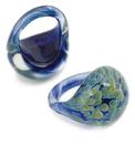 Gorilla Glass Custom-828-ZOR-GG Zoa Borosilicate Glass Ring - Custom Made - Price Per 1