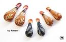Gorilla Glass Custom-868-TORIANDOUBLE-GG Torian Borosilicate Double Flared Glass Plug - Custom Made - Price Per 1