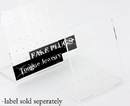 Painful Pleasures DIS-055-056 Sticker for Small Display Stand