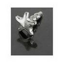 Painful Pleasures GNS219 14kt White Gold BioPlastic FLAT Star - add on
