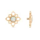 Price Per 1 Elementals Organics Golden Horn DUCKLING Spiral Hanger Earrings Body Jewelry 6g 00g