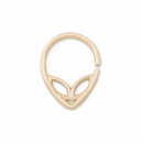 Painful Pleasures GNS258 16g Yellow Gold Alien Bendable Ring - Price Per 1