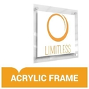Limitless Limit-029a-kit Custom Acrylic Frame Display - Upload Your Art