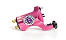 Bishop Rotary Tattoo Machine - Gothic Pink - Clip Cord Model