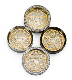 Elementals Organics Cahaya Brass Insert Only Price Per 1