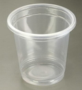 Precision Medical MED-035 3oz Plastic Cups for Rinse, Ultrasonic & More - Price Per Sleeve of 50 Cups