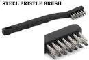 Precision Medical MED-041 Steel Bristle Brush - Tattoo Tube Tip Cleaning Brush & Shop Brush