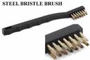 Precision Medical MED-042 Brass Bristle Brush - Tattoo Tube Tip Cleaning Brush & Shop Brush