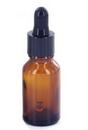 Precision MED-178 Amber Glass Round Dropper Bottle - 1/2oz