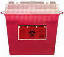 Bemis MED-223 Bemis Multi-Use Sharps Containers - 5 Quarts