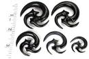 Elementals Organics ORG051 WICKED Organic Horn Hanger Wholesale Body Jewelry - Price Per 1