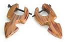 Elementals Organics ORG105-pair WOOD Cheaters # 105 - Stirrups Natural Body Jewelry - Price Per 2