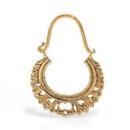 Elementals ORG1084-pair 12g Bronze Indonesian TELOK Earrings - Price Per 2